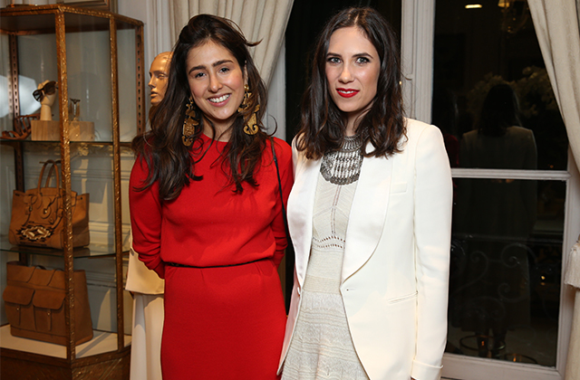 Maria Claudia Echavarria and Tatiana Casiraghi
