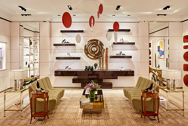 Roger Vivier boutique at The Galleria in Abu Dhabi