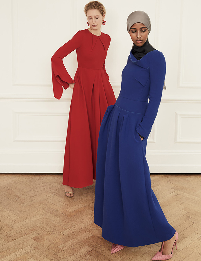Roland Mouret adds a touch of modesty to his Signature Collection for The Modist (фото 1)