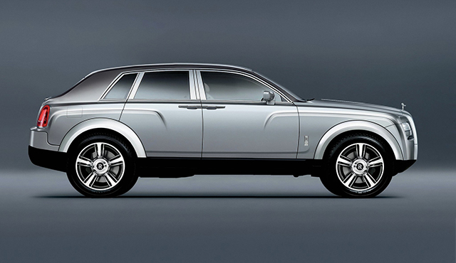 Rolls-Royce take first steps to produce SUV