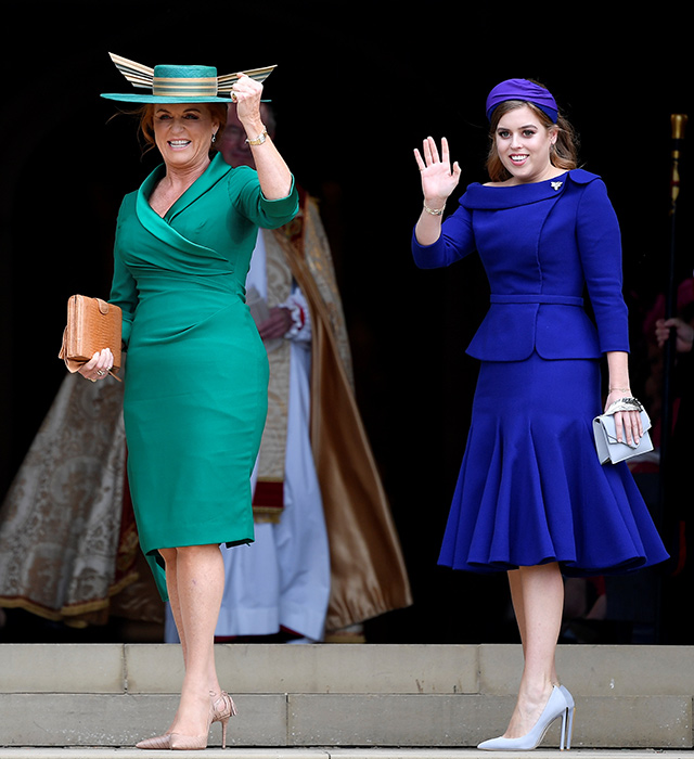 Just in: Princess Eugenie wears Peter Pilotto to marry Jack Brooksbank (фото 4)