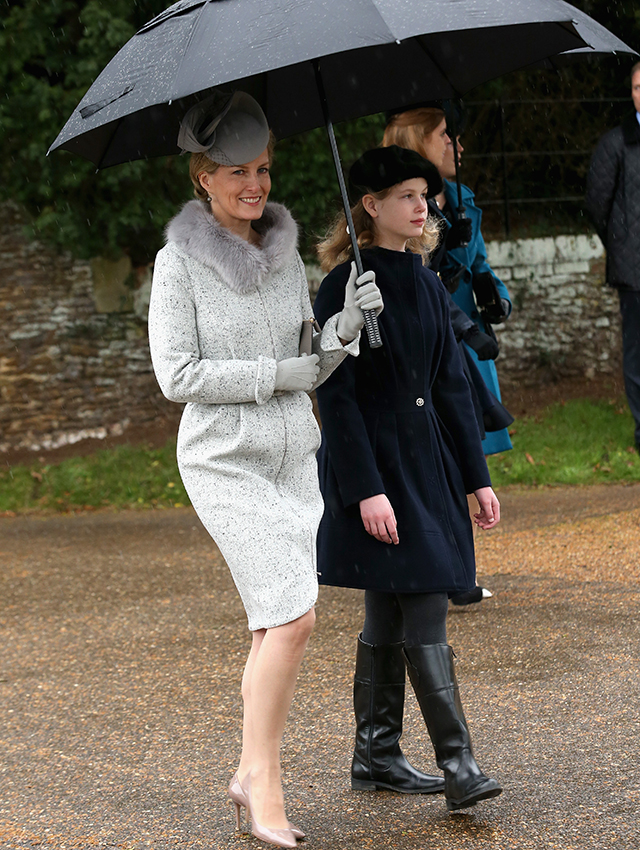 The Royal Family's festive day out
