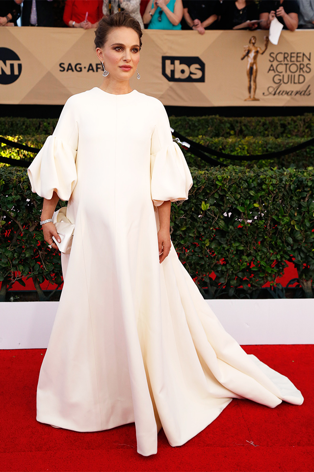 Natalie Portman dressed in Dior Couture