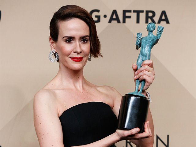 "Sarah Paulson, Outstanding Performance by a Female Actor in a Miniseries or Television Movie for her role in ""The People v. O.J. Simpson: Amer"
