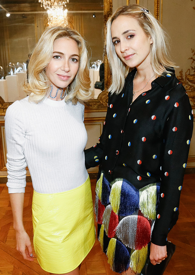 Sabine Getty and Elisabeth Von Thurn Und Taxis