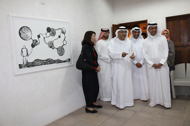 Opening Ceremony of SIKKA Art Fair 2014