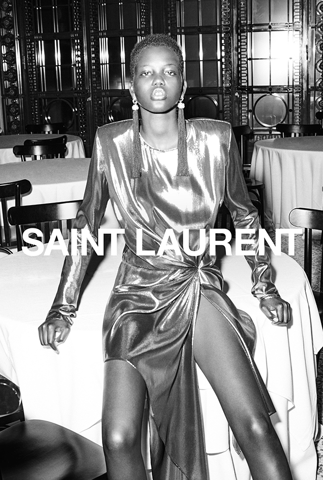 Saint Laurent SS17 campaign