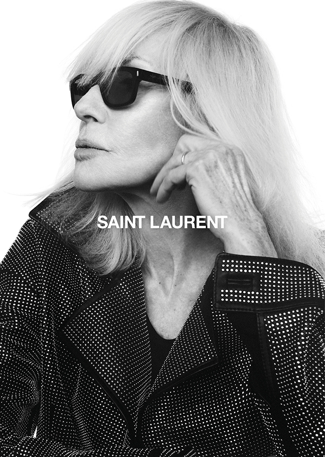 Betty Catroux lands a new campaign with Saint Laurent for Fall 2018 (фото 1)