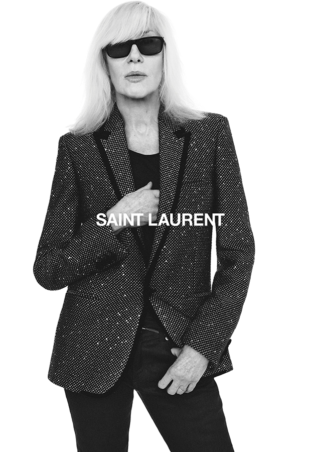 Betty Catroux lands a new campaign with Saint Laurent for Fall 2018 (фото 2)
