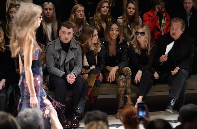 London Fashion Week: The guests at the Burberry Prorsum show
