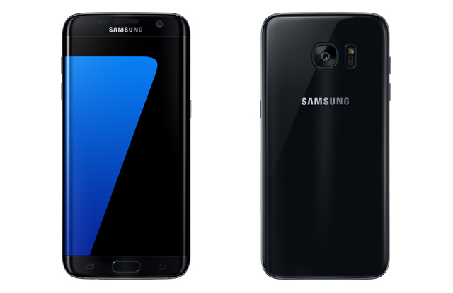 Samsung Galaxy S7 edge in black