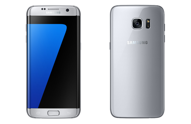 Samsung Galaxy S7 edge side profiles