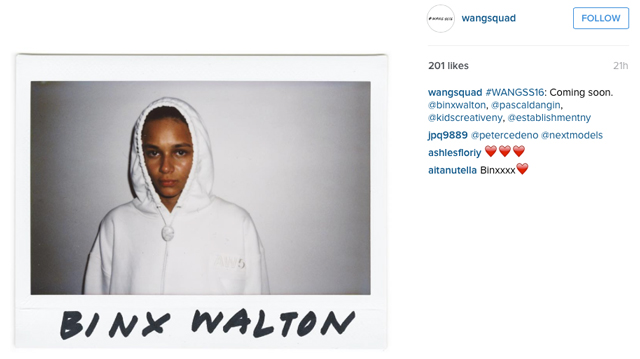 Alexander Wang's Spring/Summer '16 Instagram initiative (фото 1)
