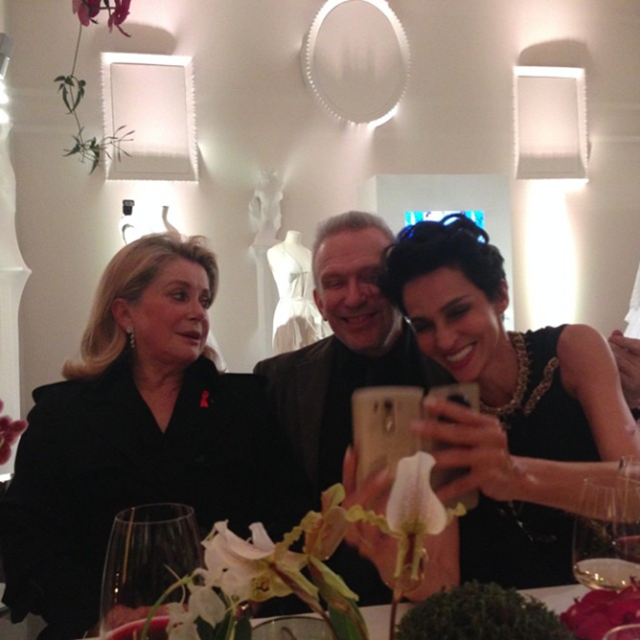 Jean Paul Gaultier's party creates historic Instagram moment (фото 2)