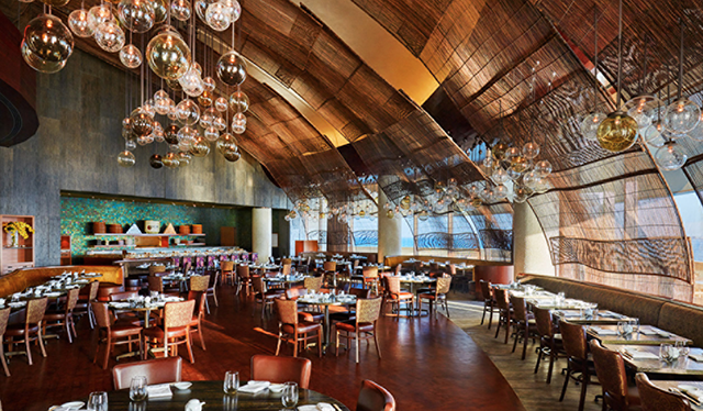The world 39 s largest nobu restaurant opens in doha qatar for Buro restaurant