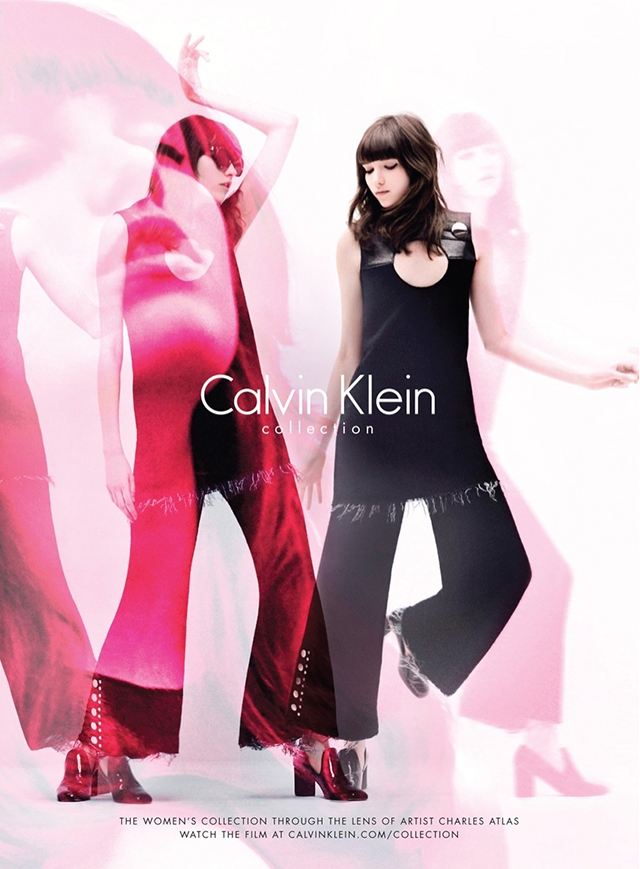 Grace Hartzel stars in the new Calvin Klein Collection campaign