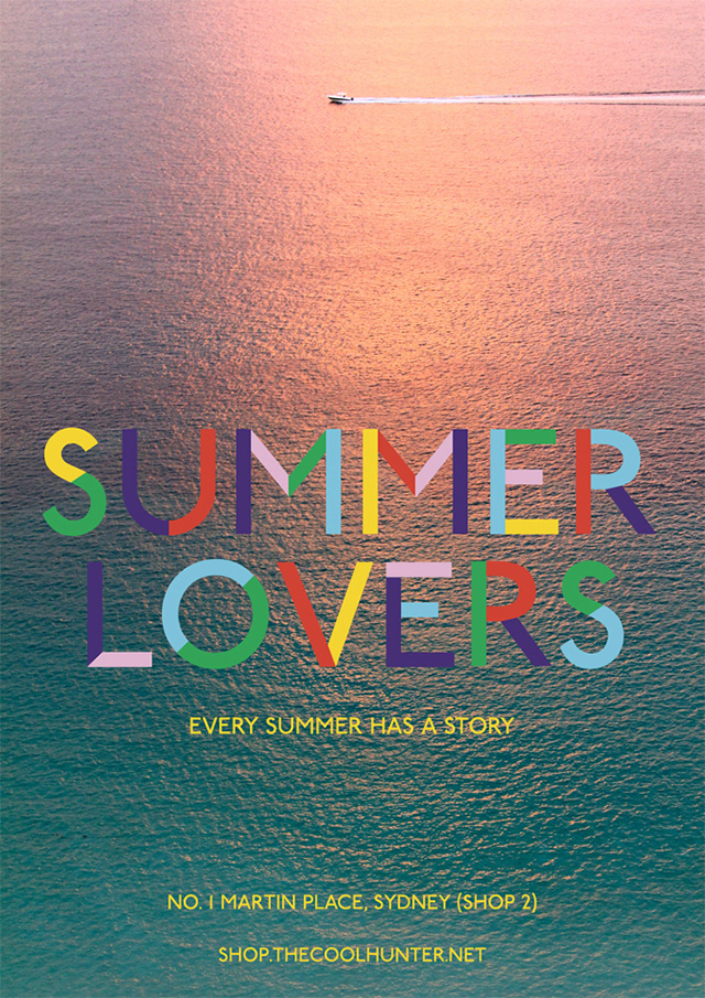 Summer Lovers store by The Cool Hunter | Buro 24/7