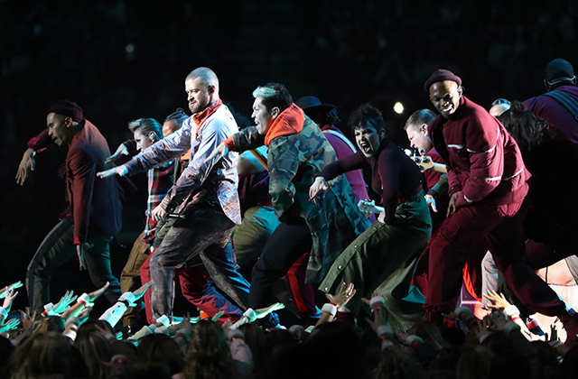 Super Bowl 2018: Justin Timberlake's half-time show (фото 1)