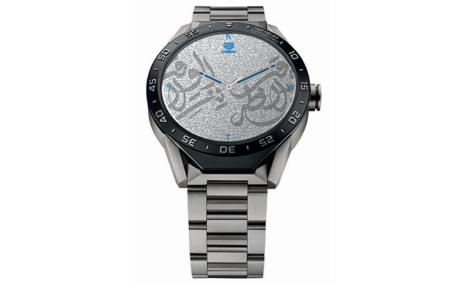 Unveiled: Tag Heuer's first Arabic watch (фото 1)
