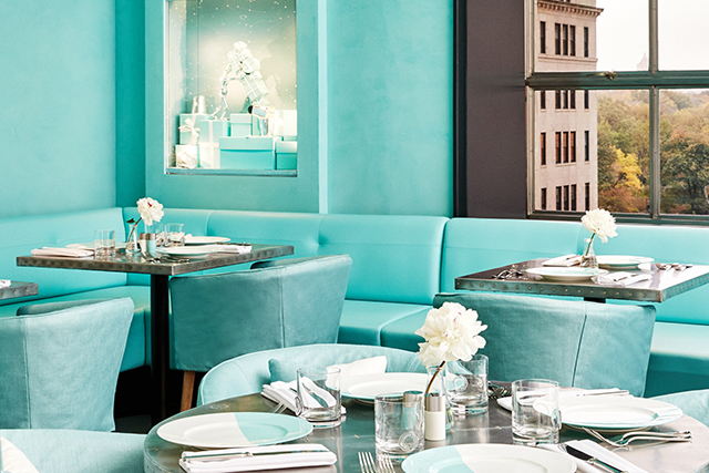 Tiffany & Co Blue Box Cafe