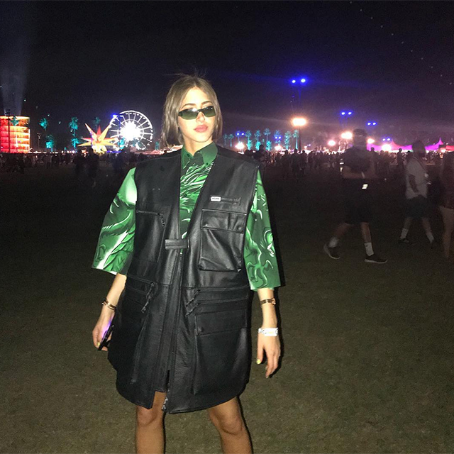The best celebrity Instagrams from Coachella – Weekend Two (фото 1)