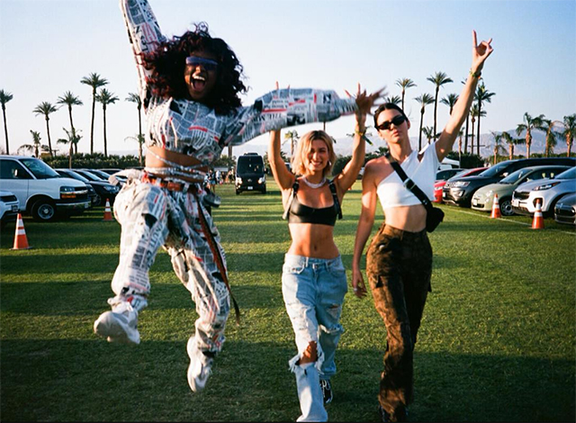 The best celebrity Instagrams from Coachella – Weekend Two (фото 9)