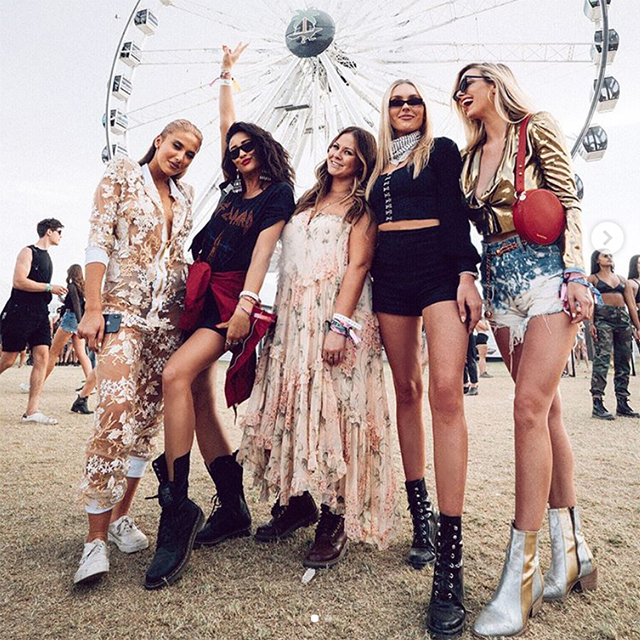 The best celebrity Instagrams from Coachella – Weekend Two (фото 5)