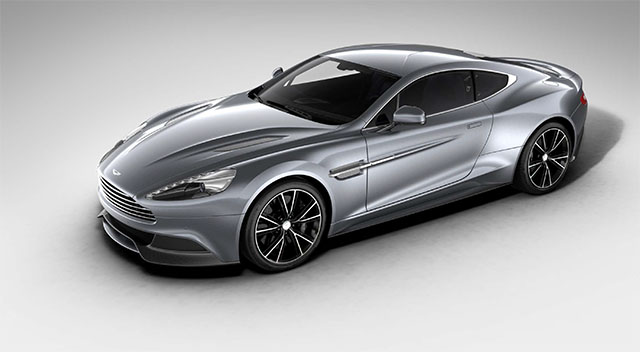 The Aston Martin Vanquish Coupe