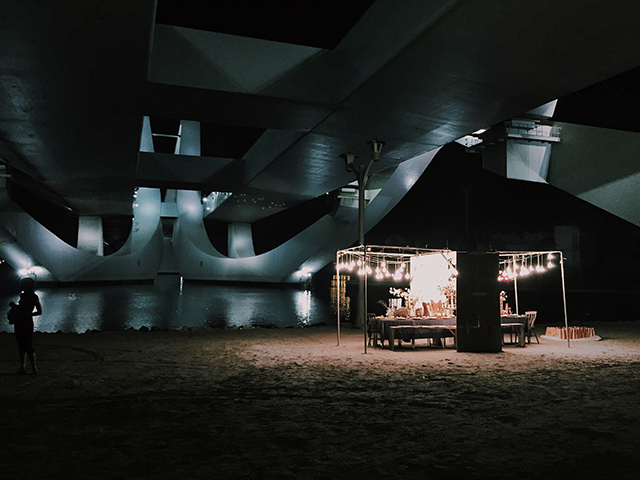 The Dinner Club by No. 57 x Tods secret dinner in Abu Dhabi