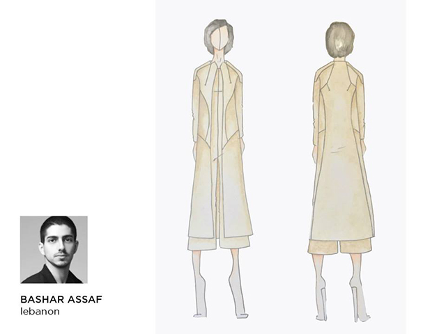 The India and Middle East nominees for the 2015/16 International Woolmark Prize