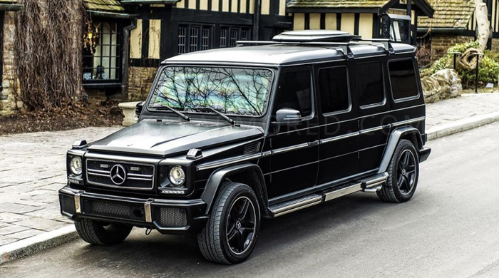 The new $1 million Mercedes-Benz G63