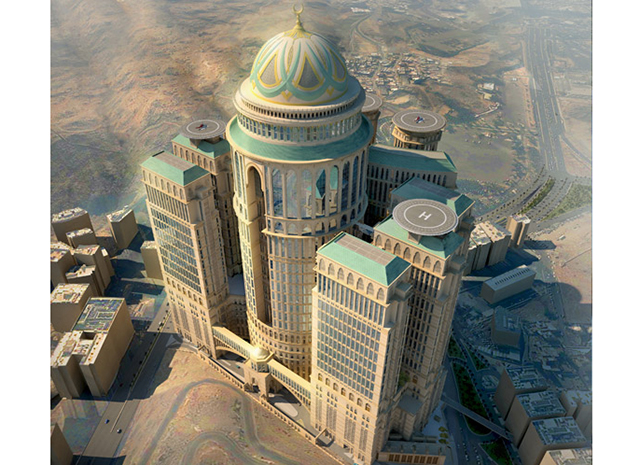 The world's biggest hotel is set to open in Saudi Arabia