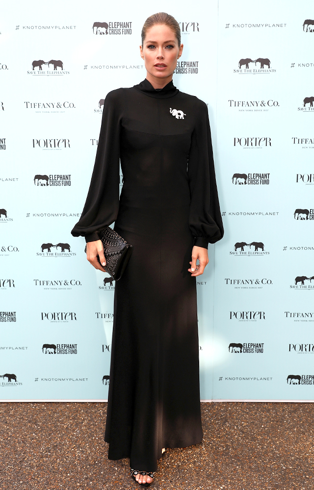 Tiffany & Co. Doutzen Kroes Save the Elephants