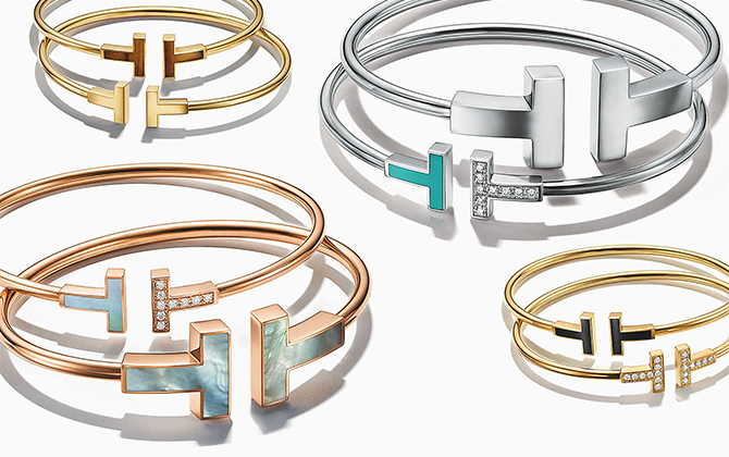 Tiffany & Co. adds colour to one of its most iconic collection, Tiffany T (фото 2)