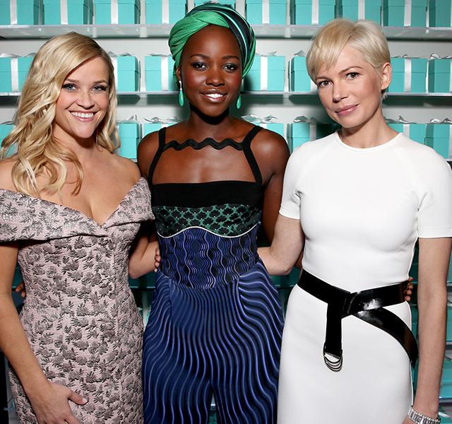 Reese Witherspoon, Lupita Nyong'o and Michelle Williams