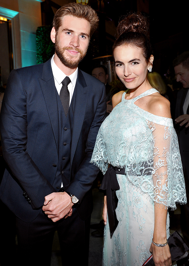 Liam Hemsworth and Camilla Belle