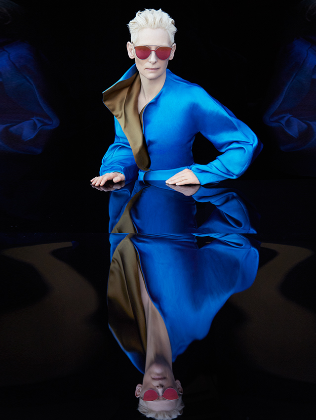 First look: Tilda Swinton for Gentle Monster (фото 1)