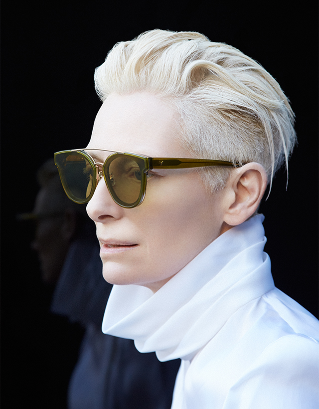 First look: Tilda Swinton for Gentle Monster (фото 5)