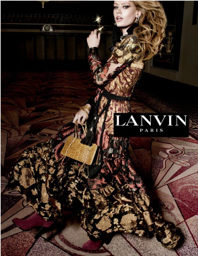 Tim Walker shoots the new Lanvin campaign