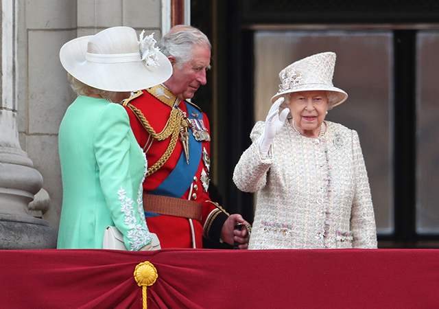 Meghan Markle makes an appearance at Trooping The Colour