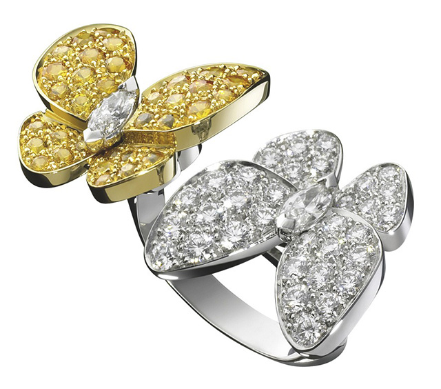 Object Of Desire The Double Butterfly Ring Buro 24 7