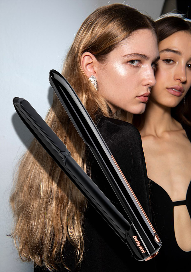 THE SHOW HERO: Babyliss 9000 Cordless Hair Straightener, £200 (Dhs948)