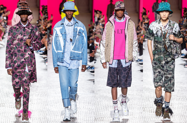 Men's Paris Fashion Week S/S'19: Day one highlights (фото 3)