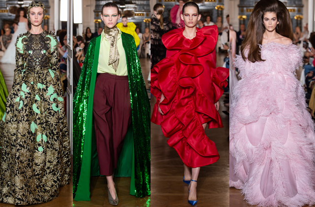Paris Haute Couture Fashion Week F/W'18: Day four highlights