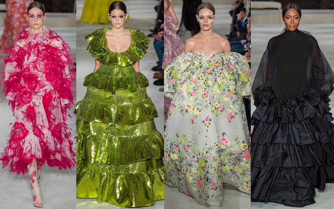 Paris Haute Couture Fashion Week S/S'19: Day three highlights (фото 4)