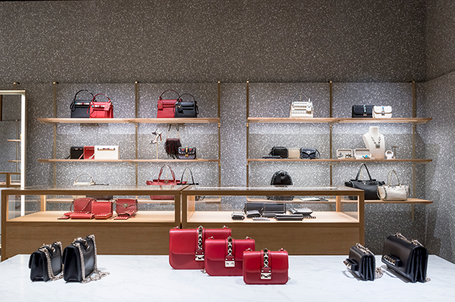 Flagship Valentino boutique in London