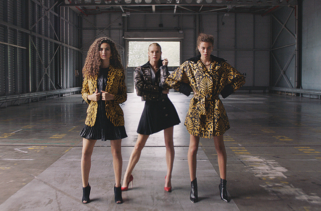 Farfetch x William Vintage release exclusive Versace collection