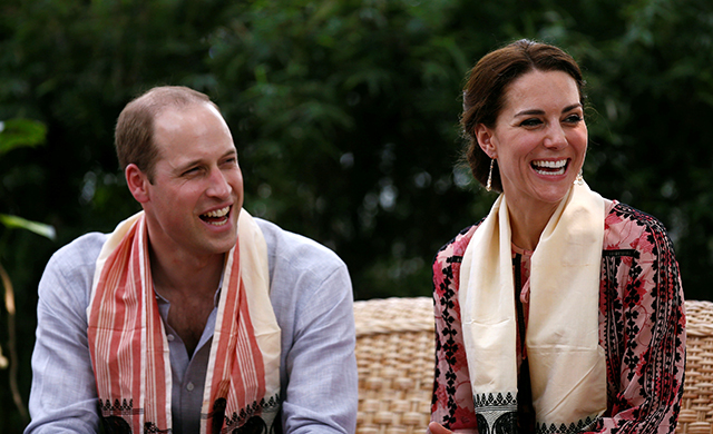 The Duke and Duchess of Cambridge celebrate seventh wedding anniversary (фото 4)