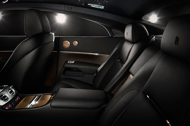 Interior of the Wraith 'Inspired by Music'