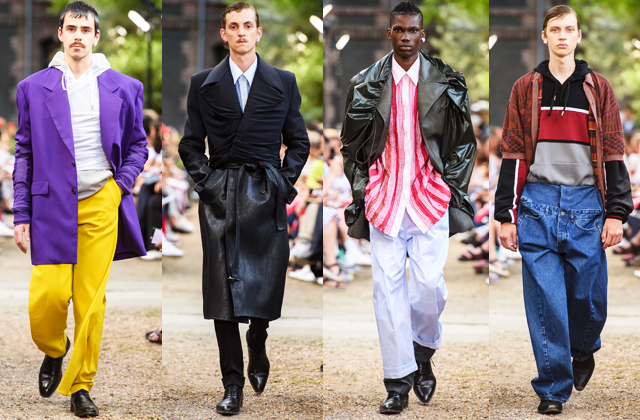 Men's Paris Fashion Week S/S'19: Day one highlights (фото 4)
